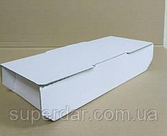 Коробка для рулетів, кулеб'яки, чіабатта і кальцоне 280х126х65 мм, біла