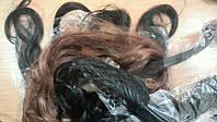 Накладные искусственные пряди для волос упаковка из 12 штук