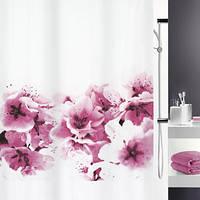 Шторка для ванной текстильная Spirella AMANDA 180х200
