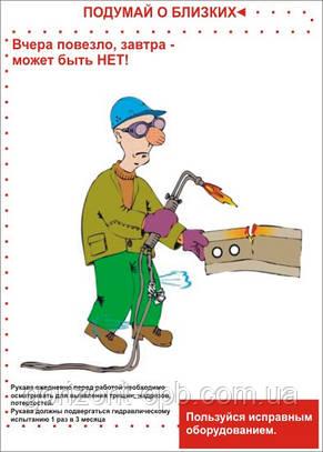 Плакат «Пользуйся исправным оборудованием»