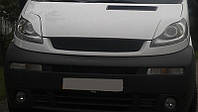 Реснички на фары Опель Виваро (Opel Vivaro) бумеранги