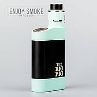 Механический мод VAMP The Rig Pig + Roughneck RDA V2 - голубой