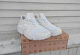 Кроссовки женские Nike Huaraсhe 30195 белые, фото 7