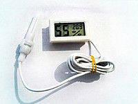 Электронный термометр-влагомер для инкубатора E-THERM TH-2 с выносным датчиком