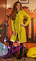Демисезонные  без подкладочные  удлинные  пальто, фото 1
