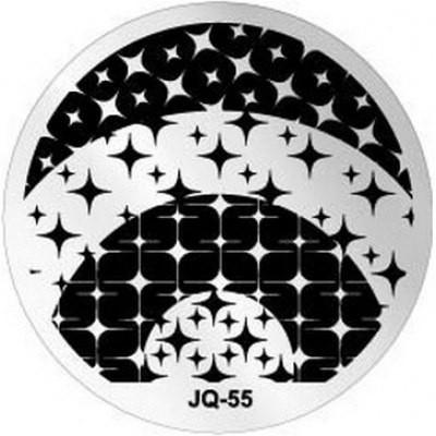 Пластина для стемпинга круглая JQ-55