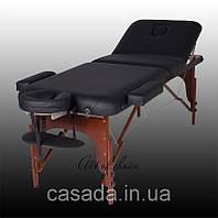 Трехсекционный деревянный массажный стол RAF