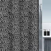 Шторка для ванной текстильная Spirella CREAMY 180х200
