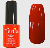 Гель лак Tertio Оранжево-красный №035