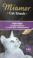 Miamor Malt-Cream (Миамор) жидкое лакомство для кошек, вывод шерсти со вкусом сыра, 15 гр (в уп.6шт)