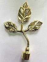 Лист Тоскана д.16мм золото