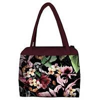 Женская сумка Сатчел с принтом Цветочная нота