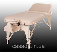 Трехсекционный деревянный массажный стол HAN, фото 1