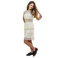 Кремовое платье от Vanessa Scott