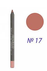 Artdeco Soft Lip Liner Waterproof - Карандаш для губ 172.17 Shiny rosewood  1 мл Оригинал