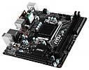 """Материнская плата MSI H170I PRO AC Mini-ITX S.1151 DDR4 """"Over-Stock"""" Б\У, фото 3"""