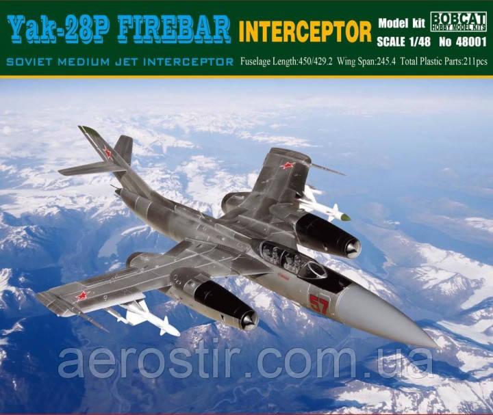 YaK-28 P Firebar 1/48 BOBCAT 48001