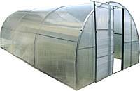 Каркасная теплица Click Green House под поликарбонат 6м двери+окна (Time Eco TM)