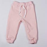 Детские штаны на девочку, розовые
