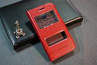 Чехол книжка для Samsung J1 J100 J100F Бесплатная доставка цвет красный