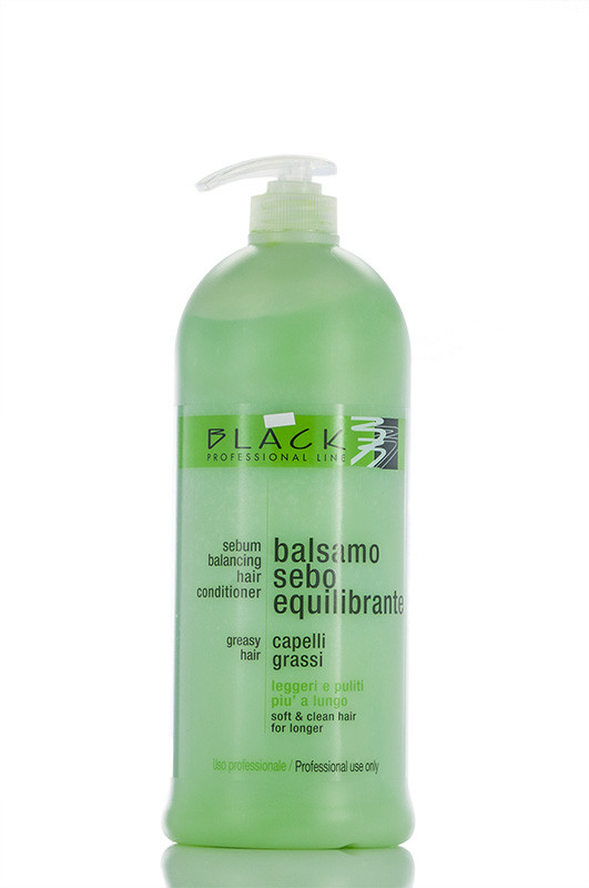 Black Sebum Balancing For Greasy Hair Кондиционер Регулирующий для жирных волос 1000 мл Код 3734