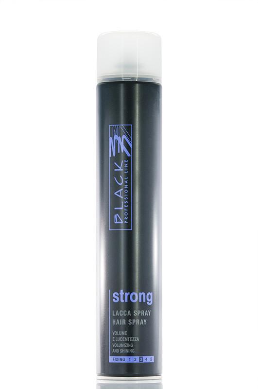 Black Лак для волос Сильной фиксации fixing 3 750 мл Код 8600