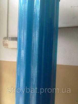 Прозорий шифер в рулоні Волнопласт блакитний 1,50х20м