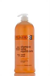 Black Sebum Balancing Shampoo Шампунь нормализующий для жирных волос 1000 мл Код 3733