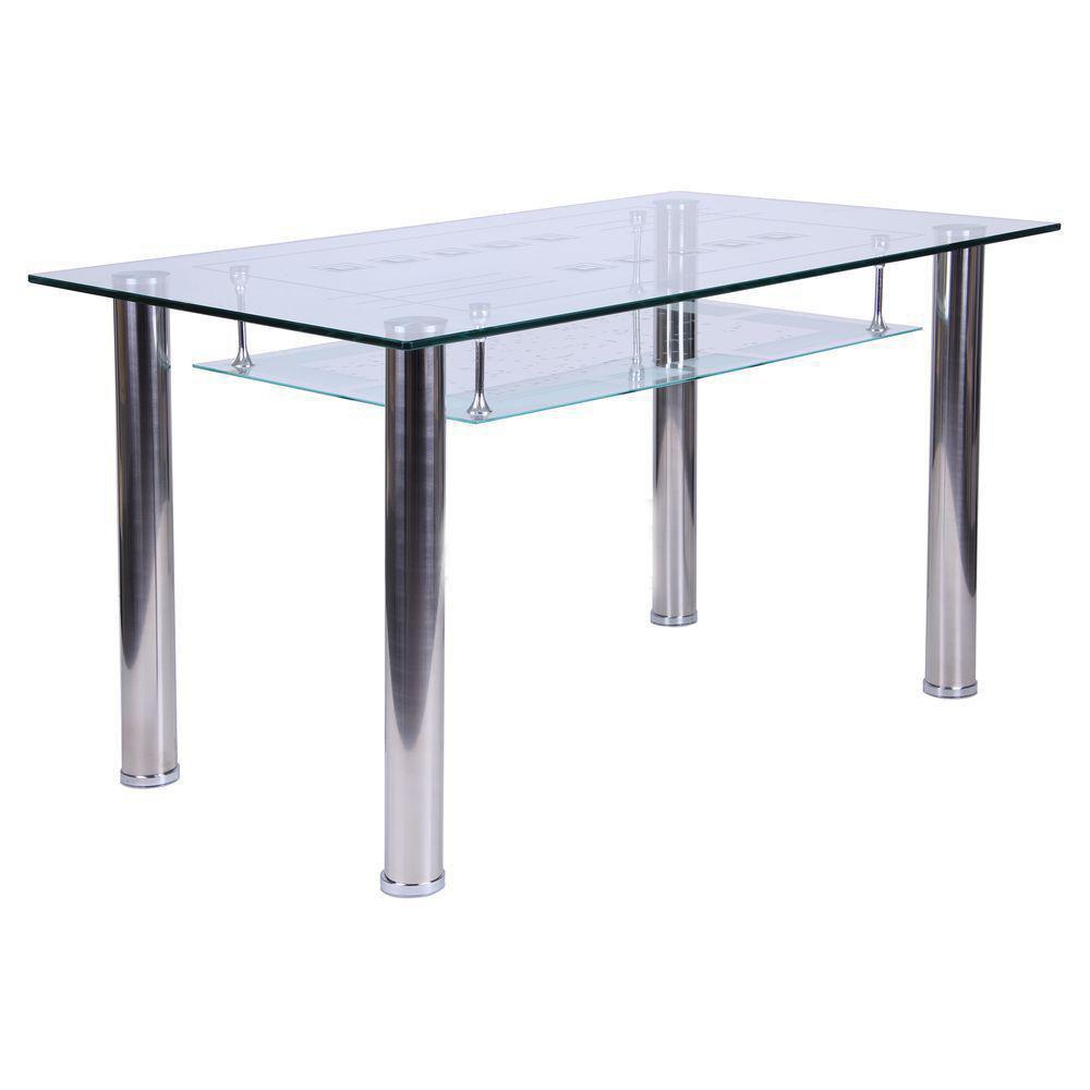 Скляний стіл Розмарі B161-4