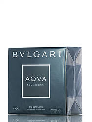 Туалетная вода Bvlgari AQUA Pour Homme для мужчин 50 мл