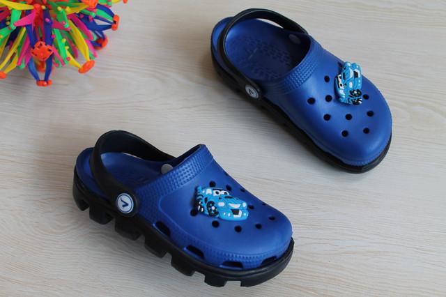 Синие Кроксы Виталия Украина для мальчика style-baby.com