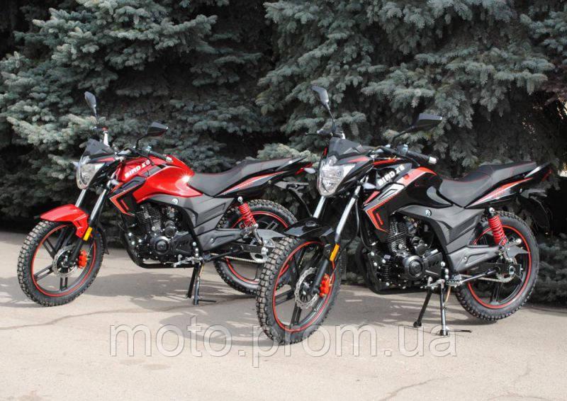 Современный мотоцикл Bird X6 200 сс для активных людей