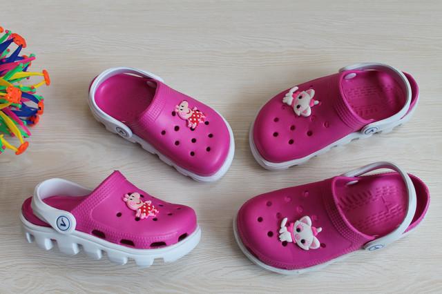 Детские Кроксы Виталия Украина для девочек style-baby.com