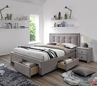 Кровать Evora 160 x 200 Бежевый + орех