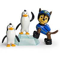 Набор из щенка-спасателя и животного: Гонщик и пингвины