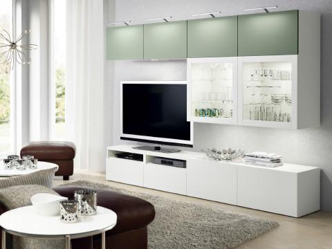Хранение ТВ и мультимедиа IKEA