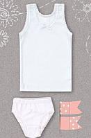 Комплект для девочек 98 см майка + трусы 05087021238 КП87 (98Б) Бэмби Украина