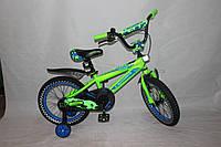 Велосипед детский двухколёсный 20 дюймов Azimut STONE CROSSER-5 салатовый***