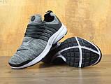 Кроссовки мужские Nike Air Presto Fleece 30212 темно-серые, фото 2
