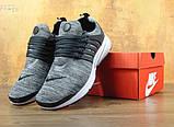 Кроссовки мужские Nike Air Presto Fleece 30212 темно-серые, фото 3