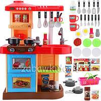Большая кухня для детей DORIS с духовкой и посудомоечной машиной
