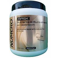 Маска для волос питательная на основе масла карите Brelil Numero Deep Nutritive Treatment Mask 1000 мл