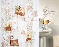 Шторка для ванной текстильная Spirella KAYA 180х200