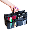 Органайзер для сумки ORGANIZE украинский аналог Bag in Bag (черный), фото 3