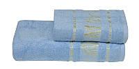 Полотенце бамбуковое 70х140 Gursan Bamboo голубой