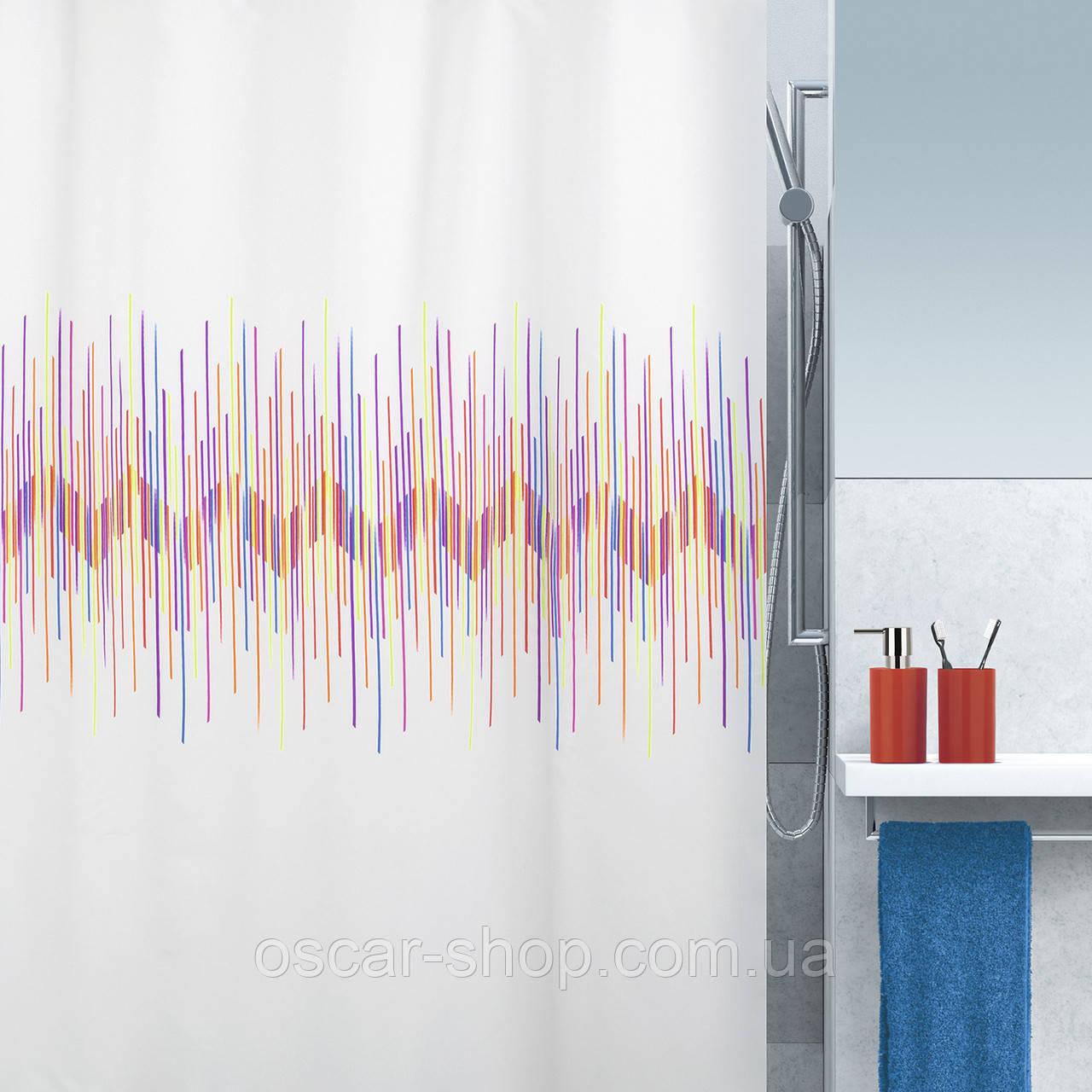 Шторка для ванної текстильна Spirella RAY 180х200