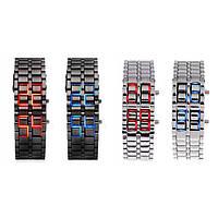 Часы-браслет Iron Samuray с светодиодными цифрами