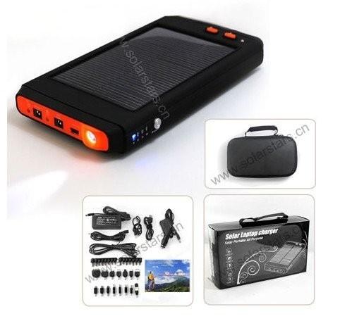 Портативная солнечная зарядная батарея с большой емкостью 16000 мА/ч для ноутбука/ мобильного телефо