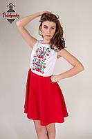 Плаття з вишивкою Веснянка, фото 1