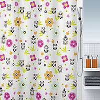 Шторка для ванной текстильная Spirella PANDA LIFE 180х200